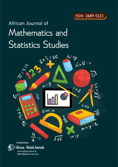 African Journal of Mathematics and Statistics Studies