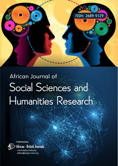 African Journal of Social Sciences and Humanities Research (ISSN: 2689-5129)