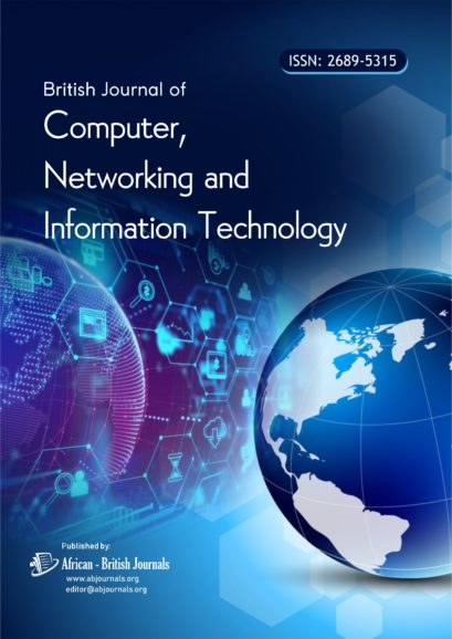 British Journal of Computer, Networking and Information Technology (ISSN: 2689-5315)