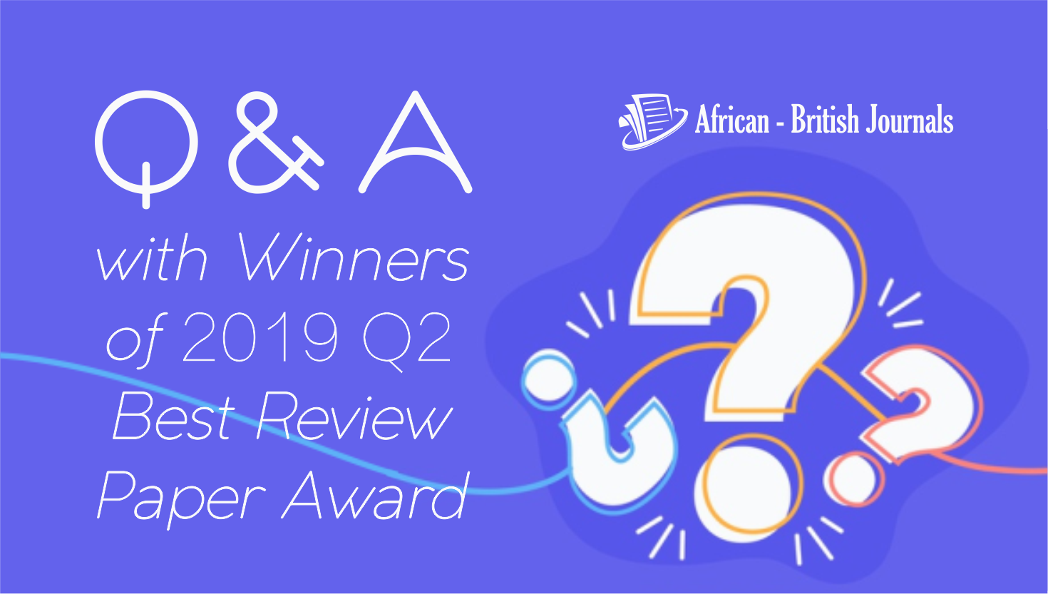 Q&A with Khoirul Hikmah, Winner of the 2019 Q2 Best Review Paper Award