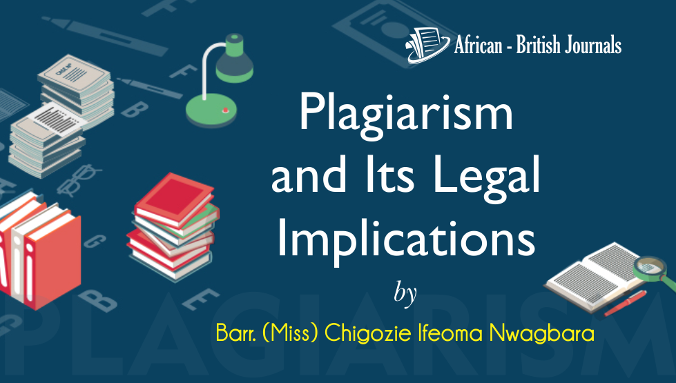 Plagiarism and Its Legal Implications