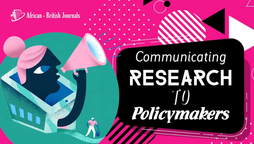 Communicating Research to Policymakers