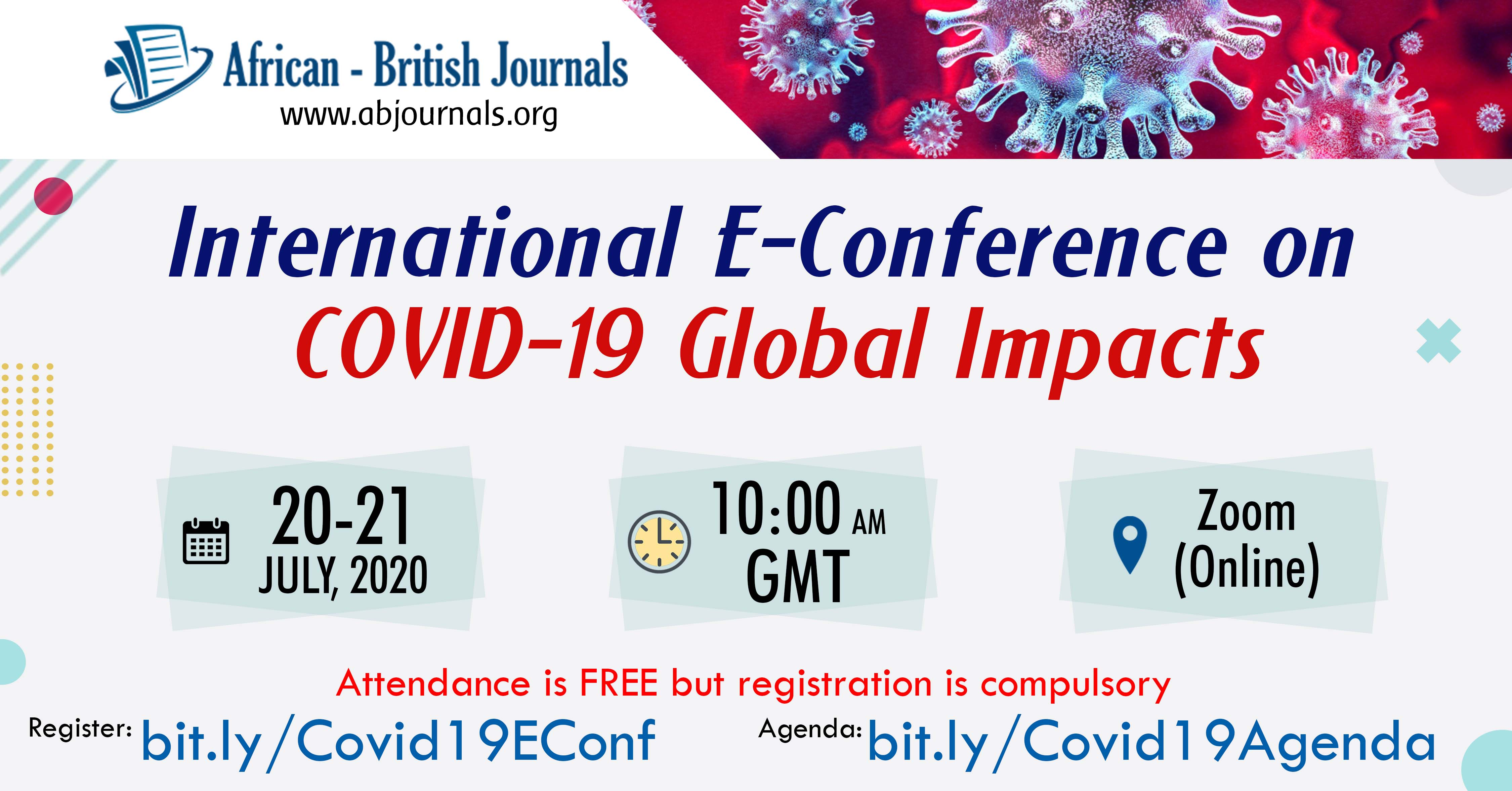 Covid 19 Global Impact Conference
